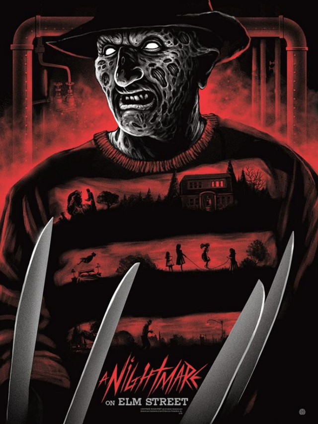 2015 Best Art - Nightmare On Elm Street Gary Pullin