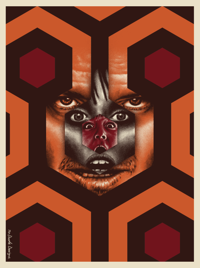 2015 Best Art - The Shining The Dude Designs