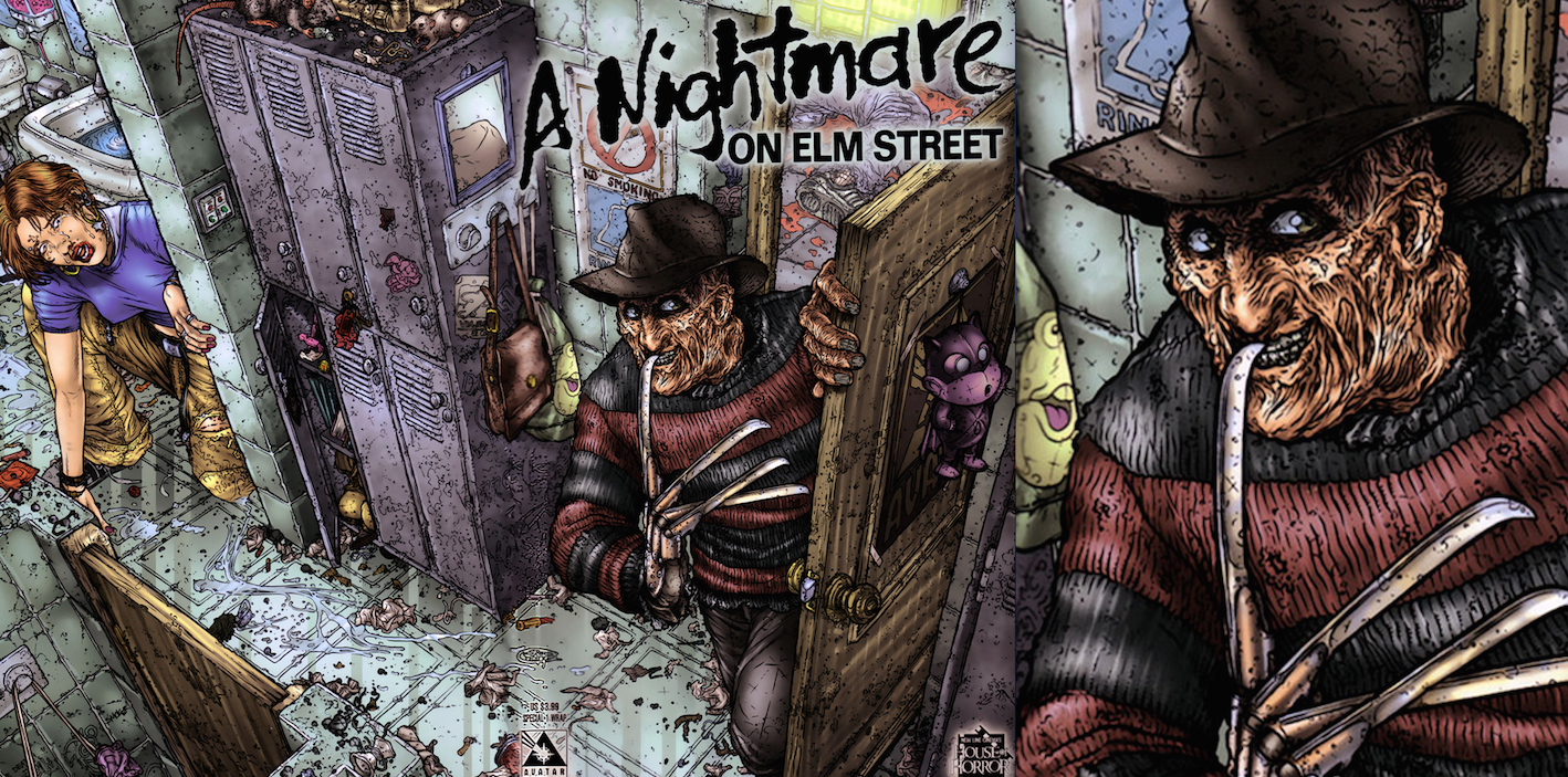 A Nightmare on Elm Street Special : Wrap Variant Cover