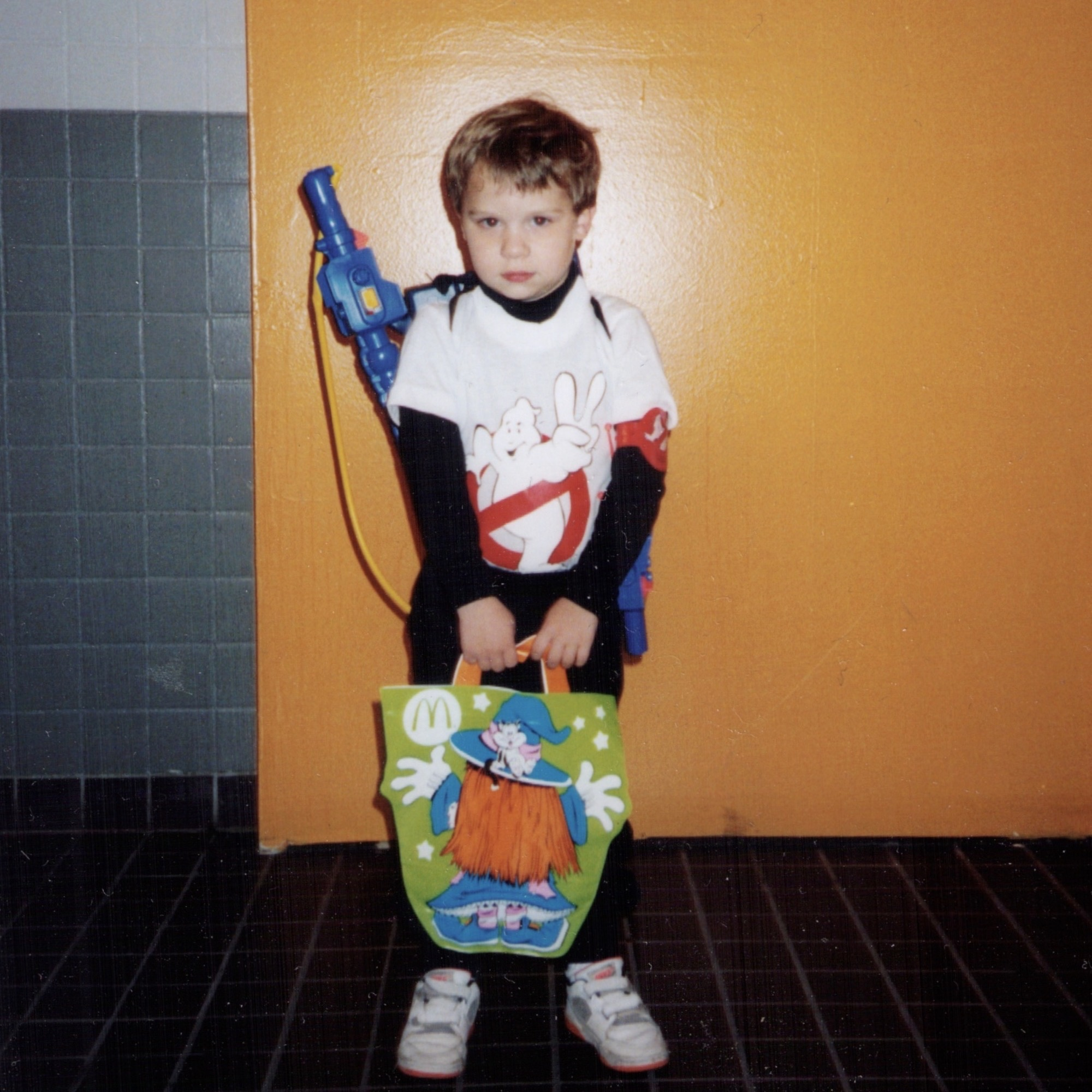 A Young Ghostbuster