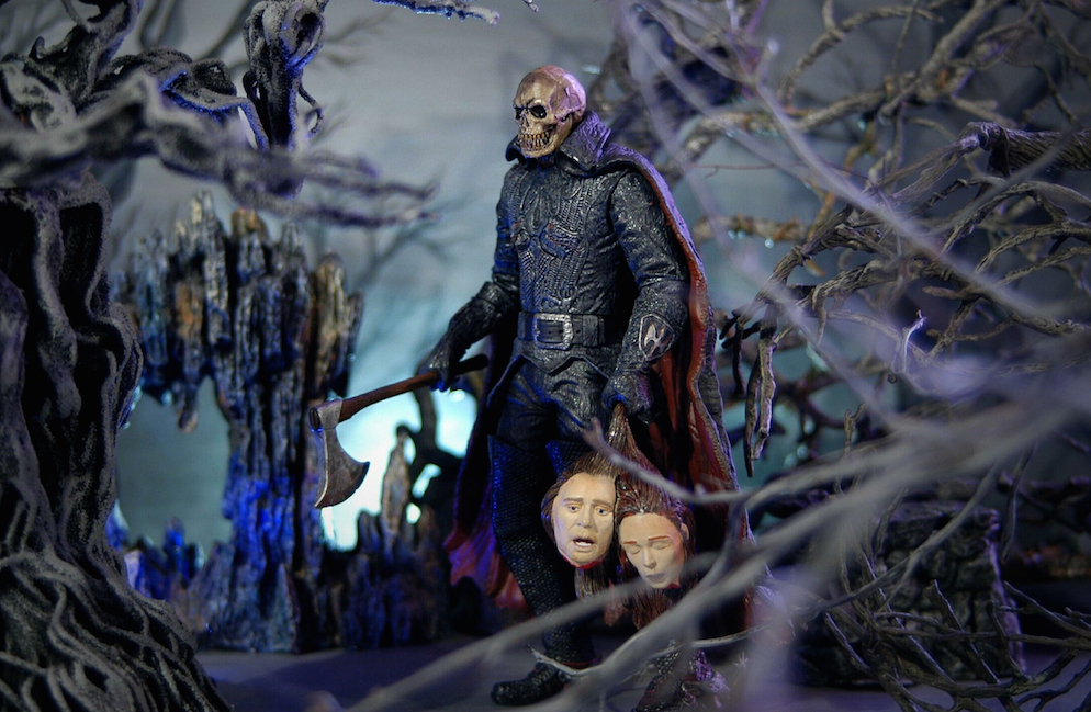 Action Figure Scene Sleepy Hollow