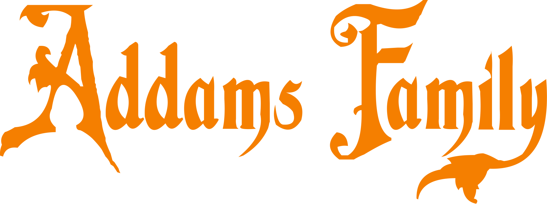 Addams Family Font