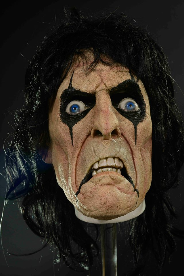 Alice Cooper Halloween mask