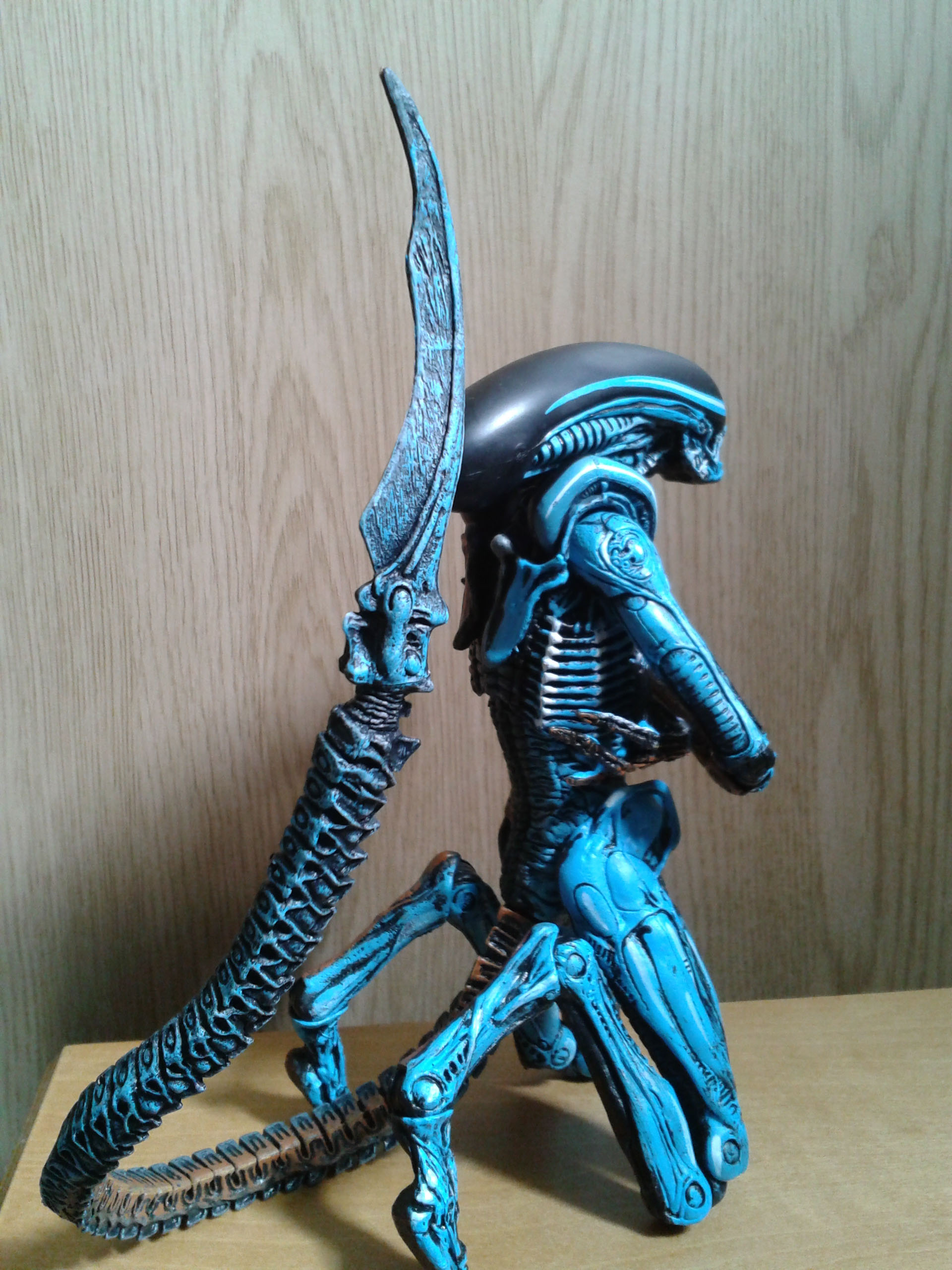 NECA Alien 3 Figure. Video Game Paint Detail
