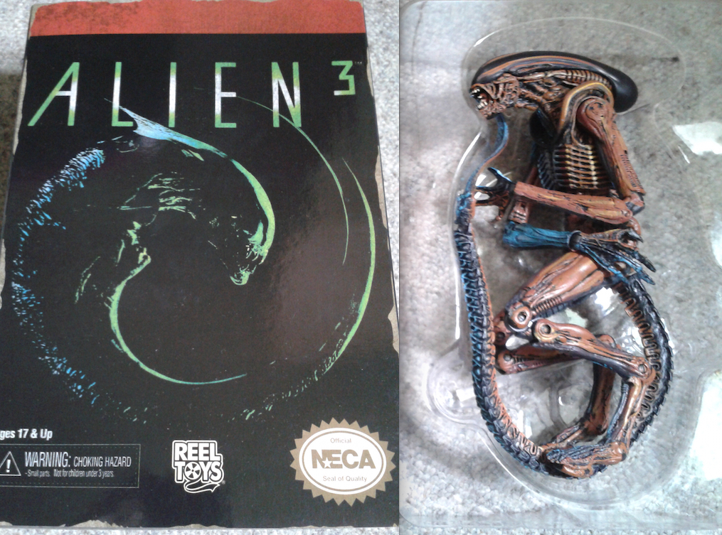 Alien 3 NECA Video Game Figure Box Opening