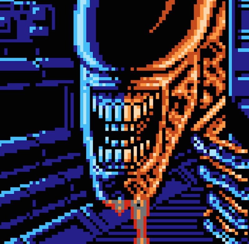 Alien 3 Video Game Screenshot