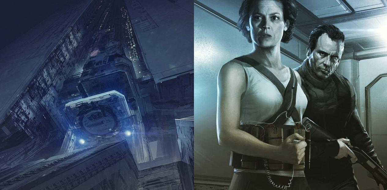 Alien 5 Concept Art - 1