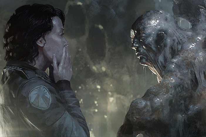 Alien 5 Concept Art - 2