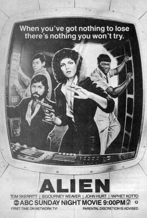 Alien ABC Advert