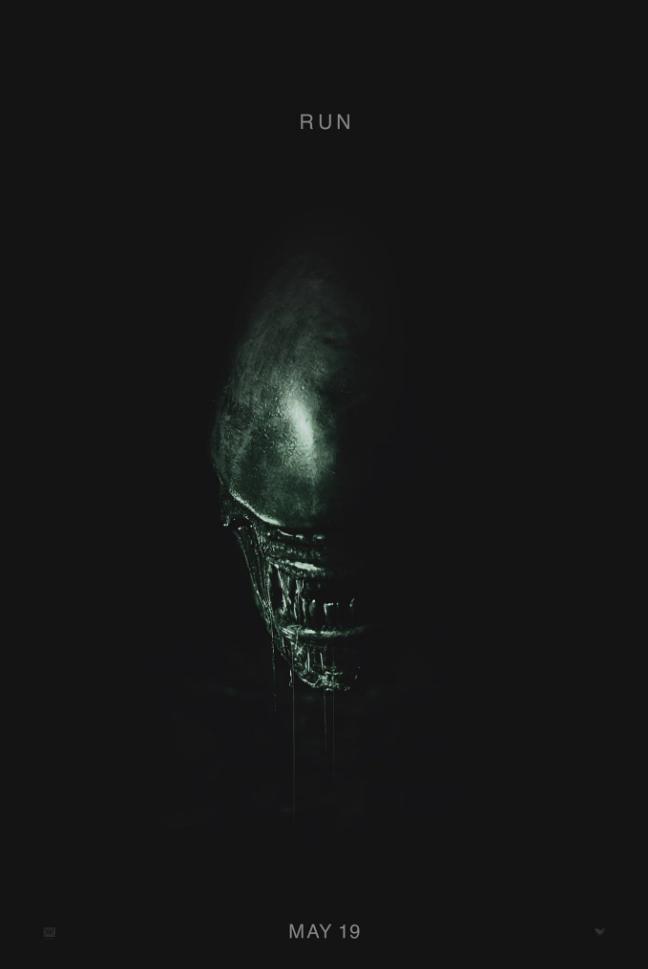 Alien Covenant First Teaser Poster - 2016