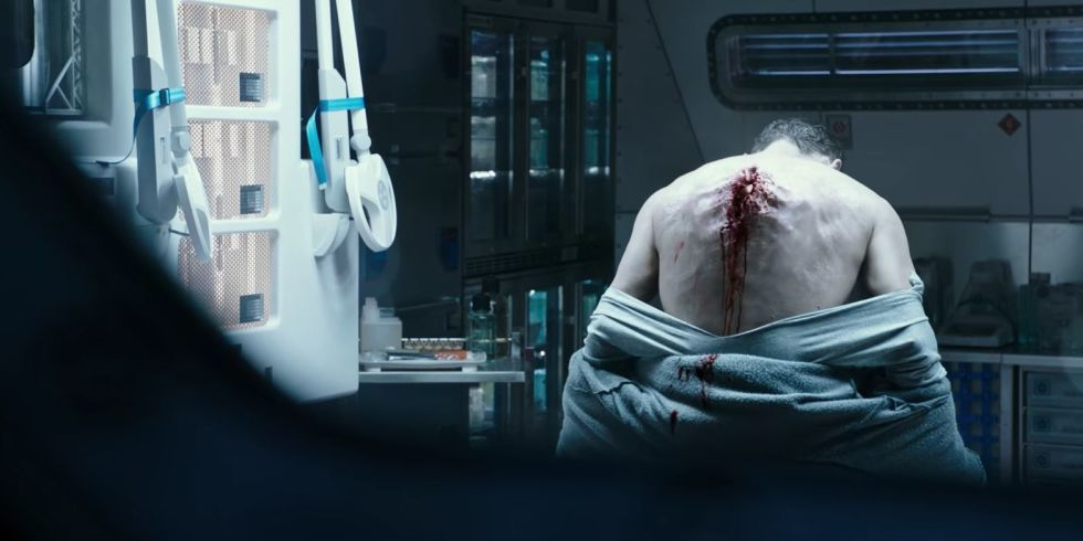 Alien: Covenant Back Burster