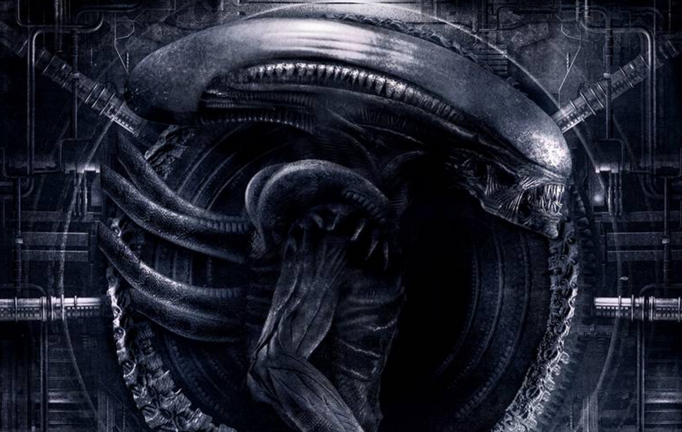 Alien Covenant exclusive Empire Magazine cover art.