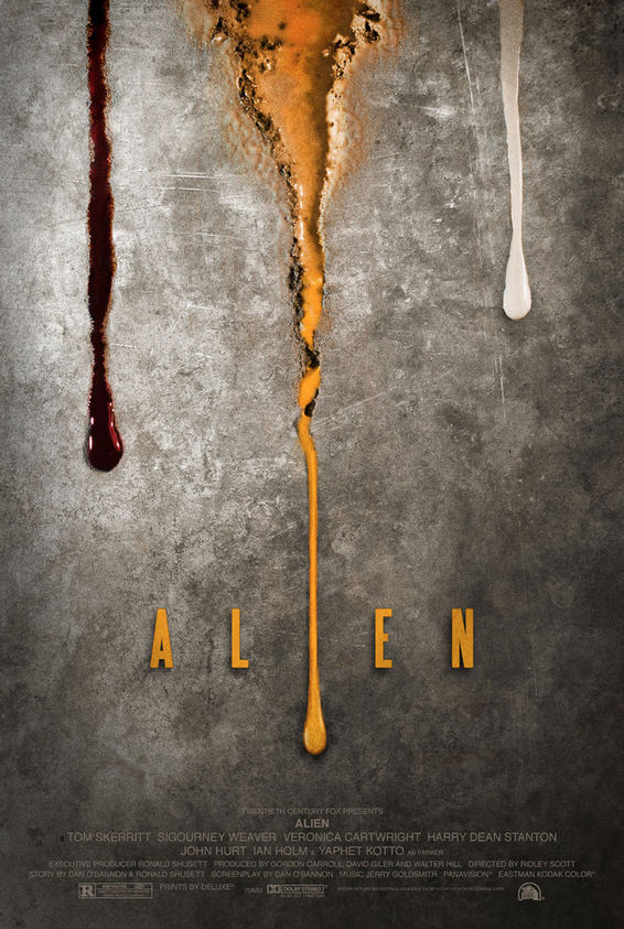 Alien Alternative Poster Art Adam Rabalais