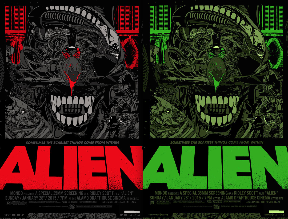 Alien Alternative Poster Tyler Stout
