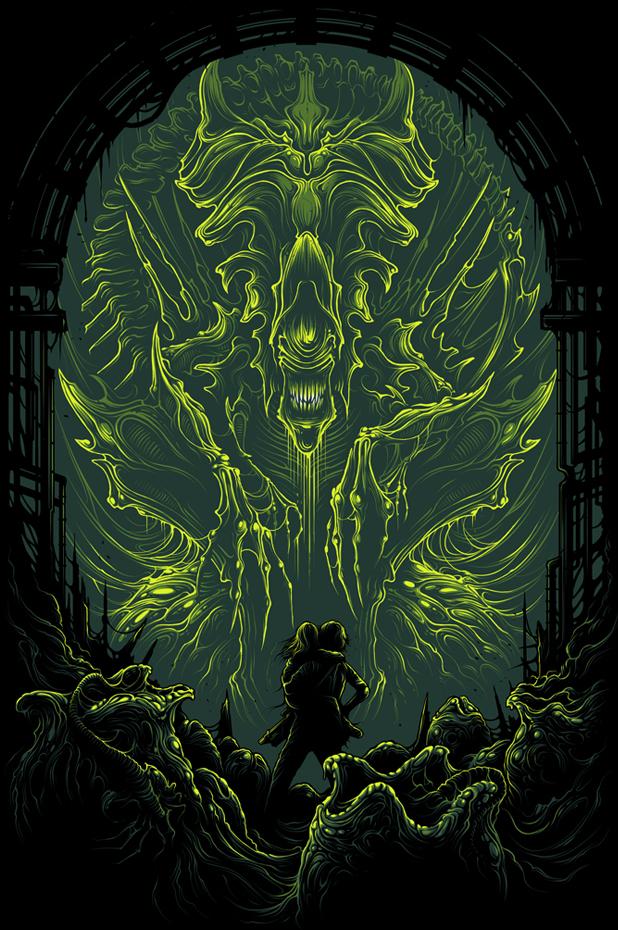 Poster Art List : Aliens Dan Mumford