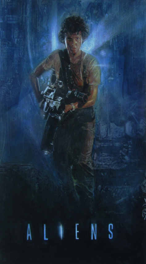 Poster Art List : Aliens Joseph Lee
