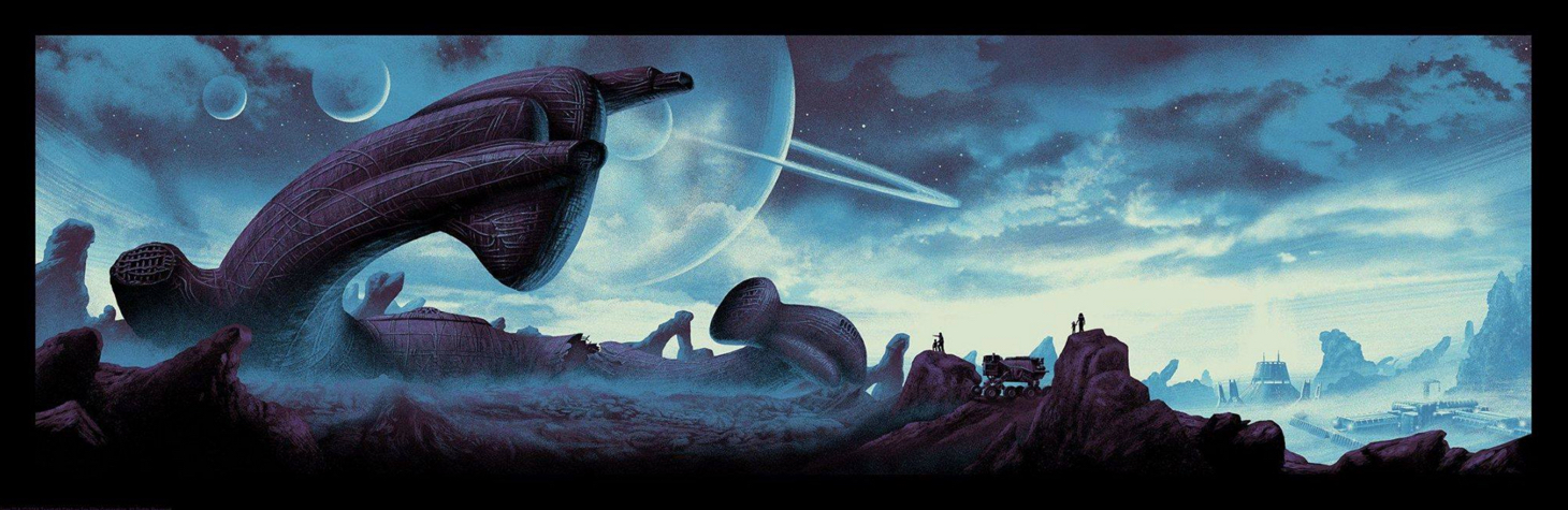 Poster Art List : Aliens Mark Englert