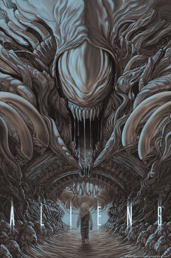 Poster Art List : Aliens Randy Ortiz