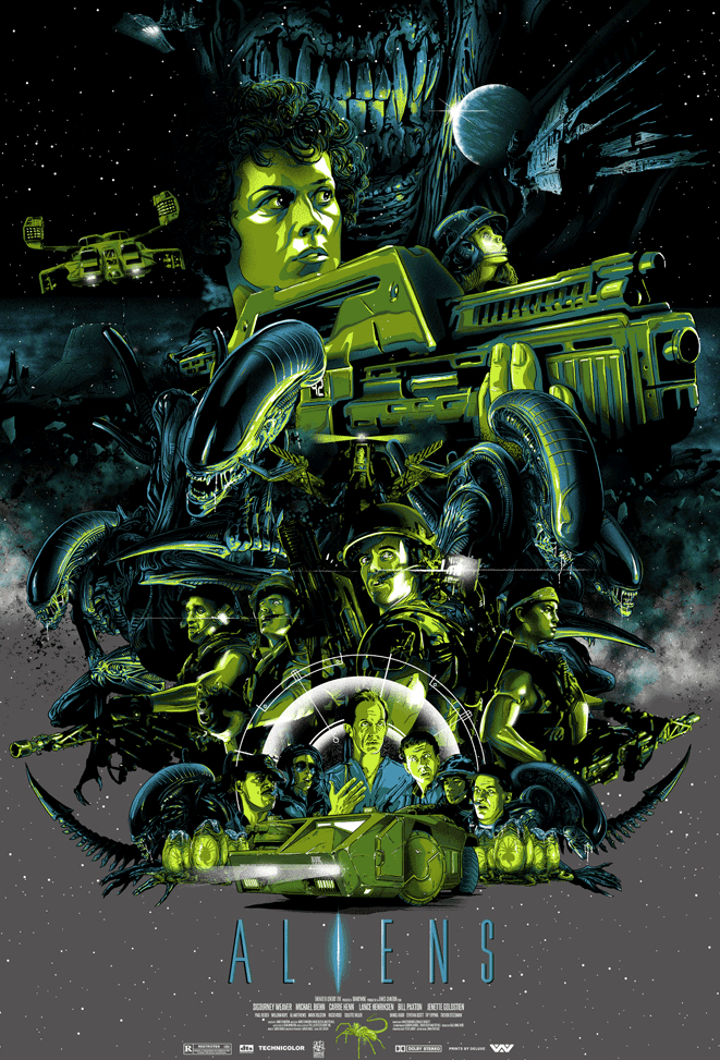 Poster Art List : Aliens Vance Kelly