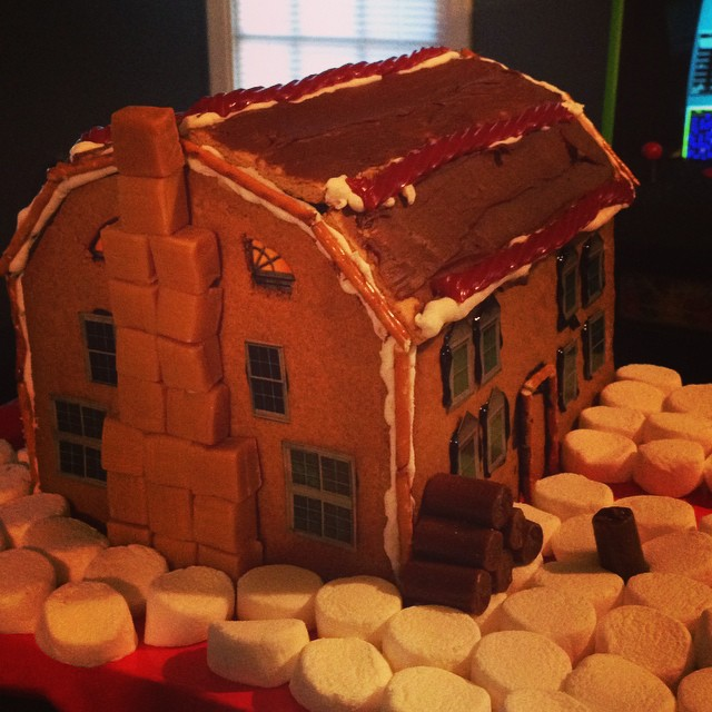 Amityville Gingerbread House