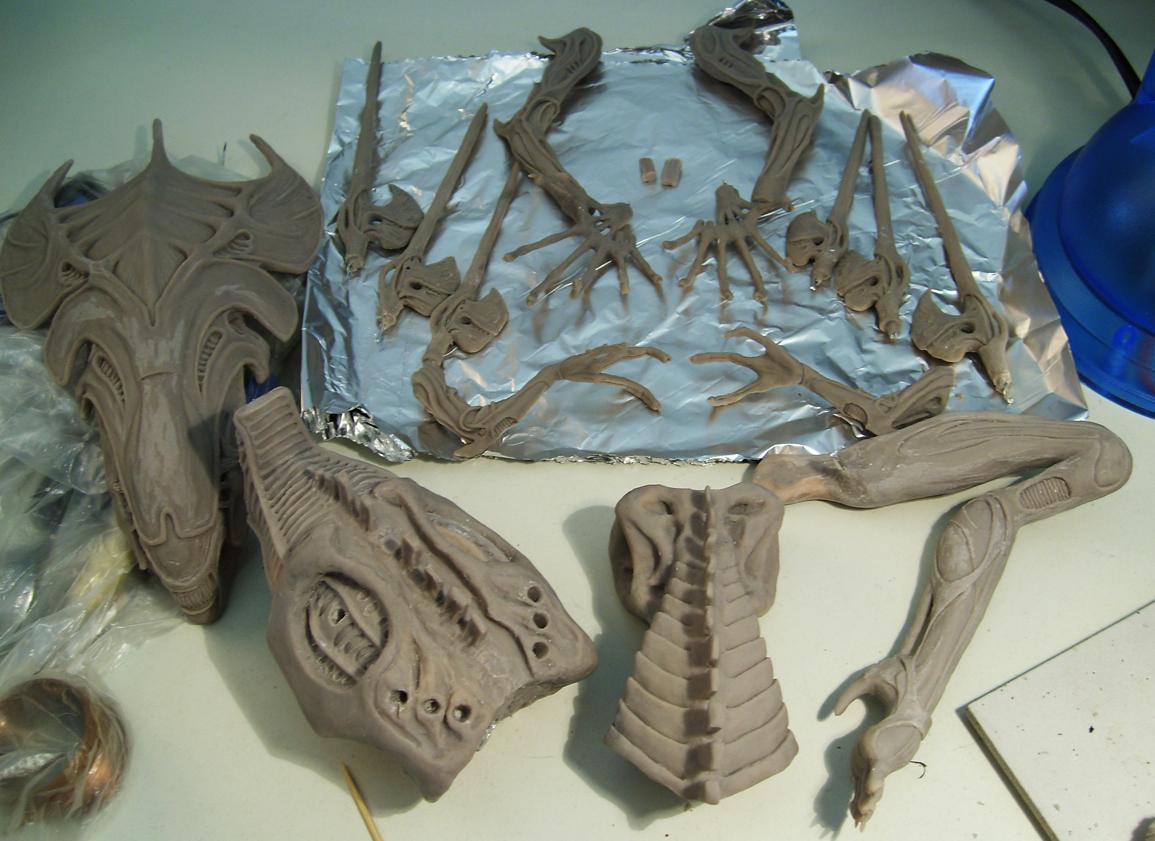 Alien Queen Parts