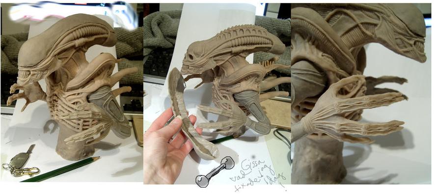 Anna Alien Sculpt