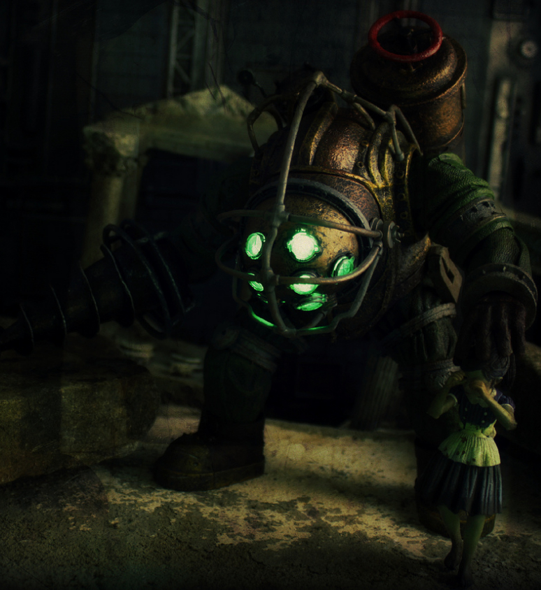 Bioshock Big Daddy