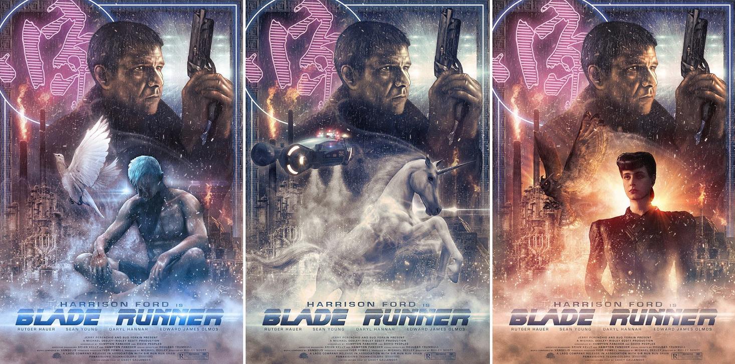 Casey Callender Blade Runner Art Variants