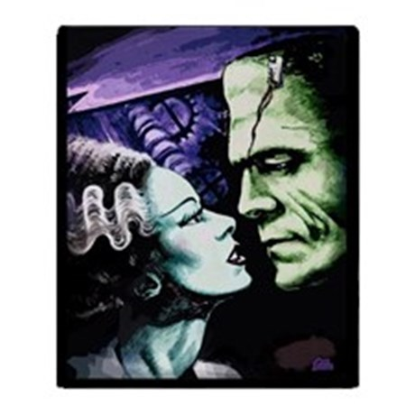 Bride of Frankenstein Throw