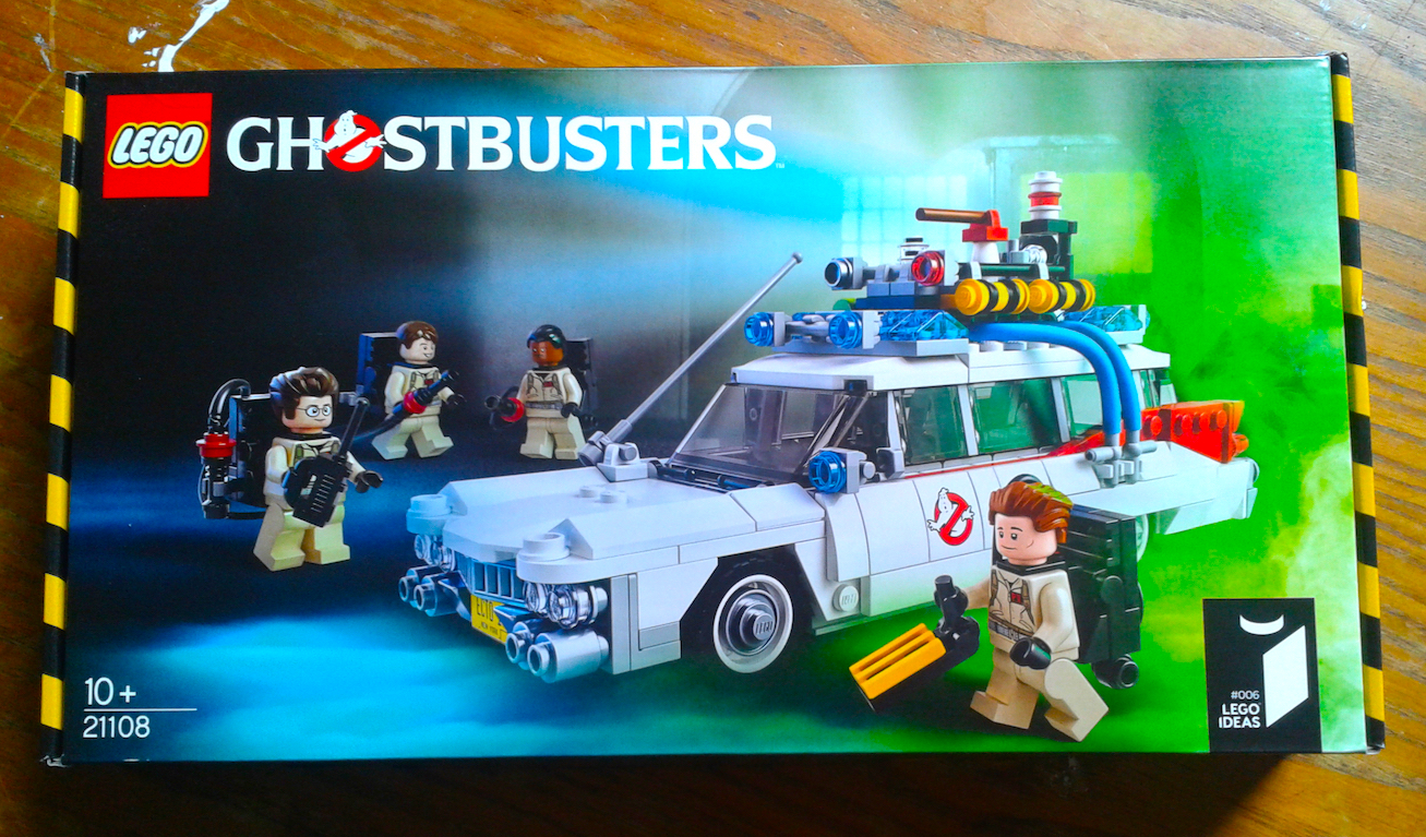 Let's Build The Lego Ecto-1
