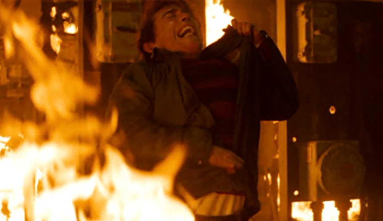 Freddy Krueger Burning