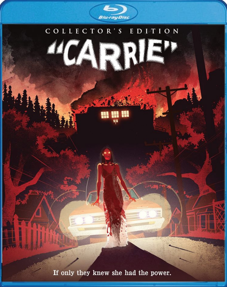 Carrie Blu-ray Cover Art Nat Marsh
