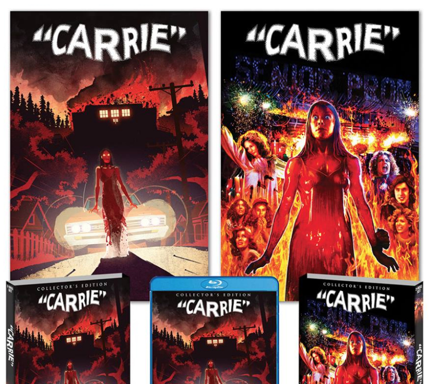 Carrie - Scream Factory 40th Anniversary Blu-ray