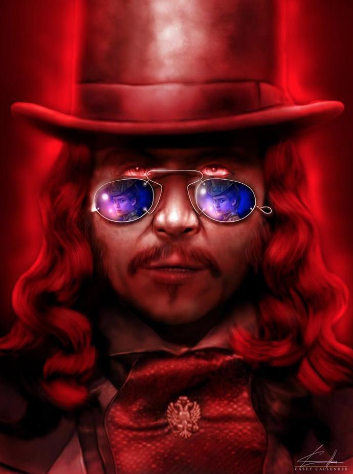 Casey Callender Dracula Art