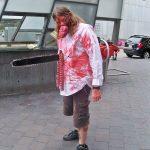 Chainsawed Zombie