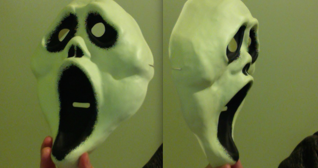 New Cheap Ghostface Mask - 2015