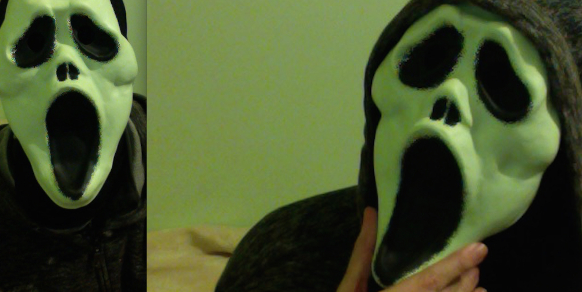 Cheap Ghostface / Scream Mask - 2015 UK.
