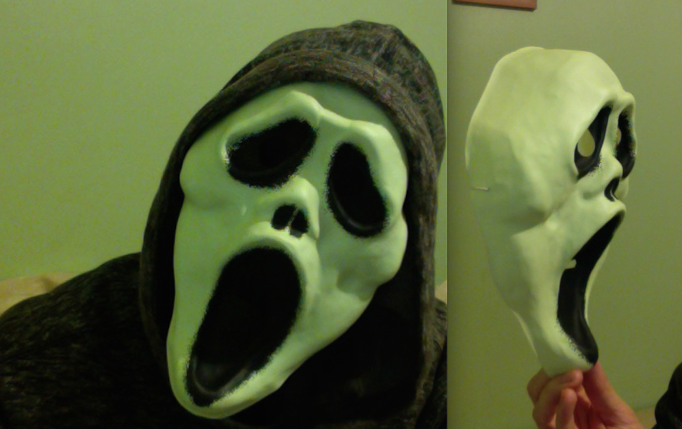 Cheap Plastic Ghostface Mask 2015 - Halloween Love