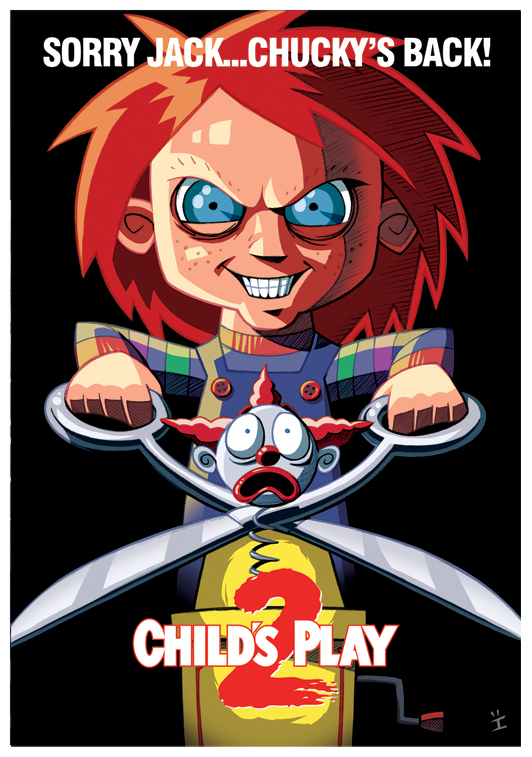 Child's Play Cartoon Poster