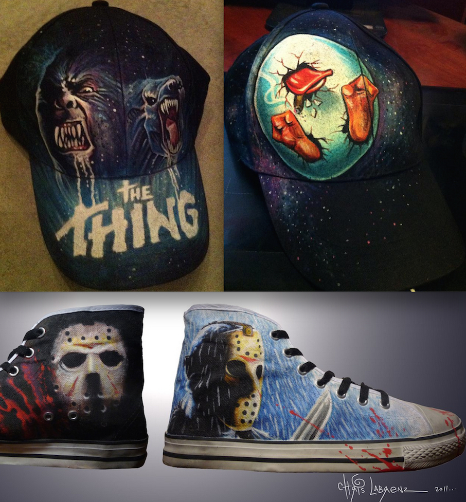 Chris Labrenz Shoes And Hats