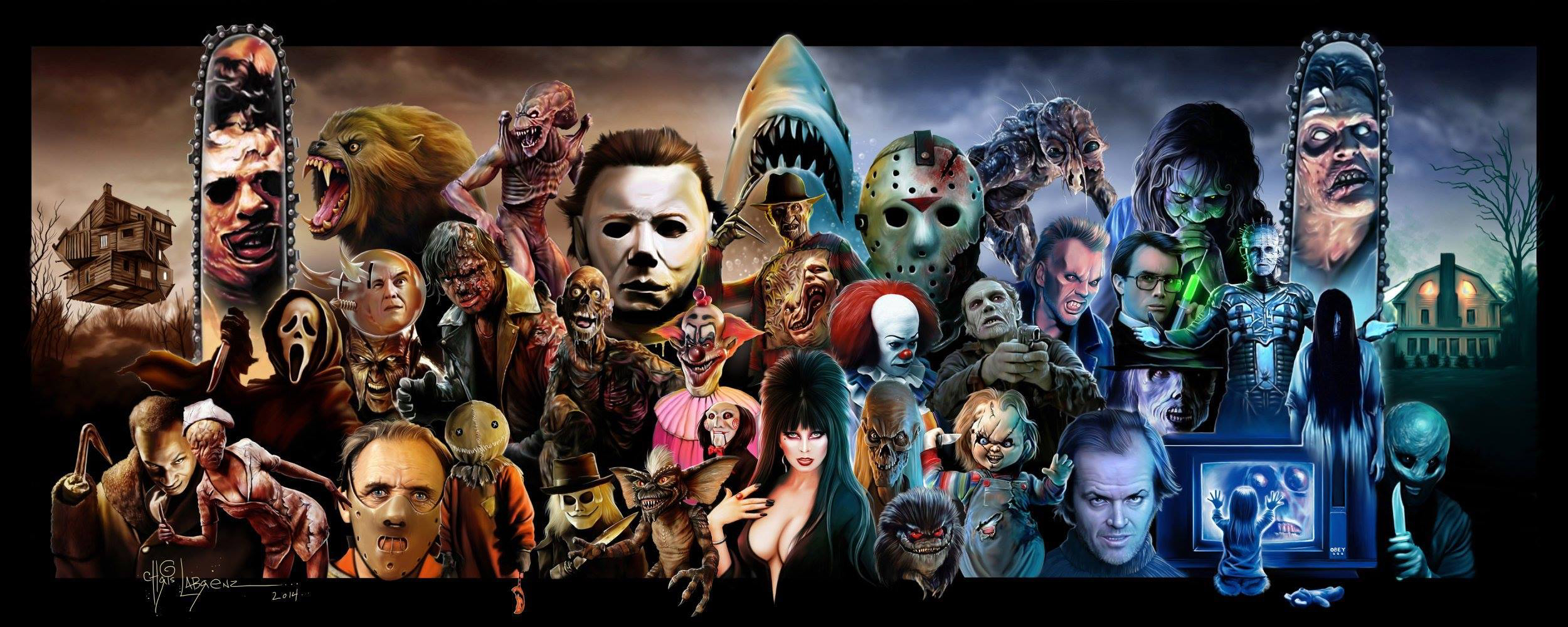 Chris Labrenz Horror Icons