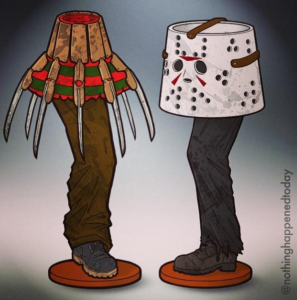 Horror Leg Lamps