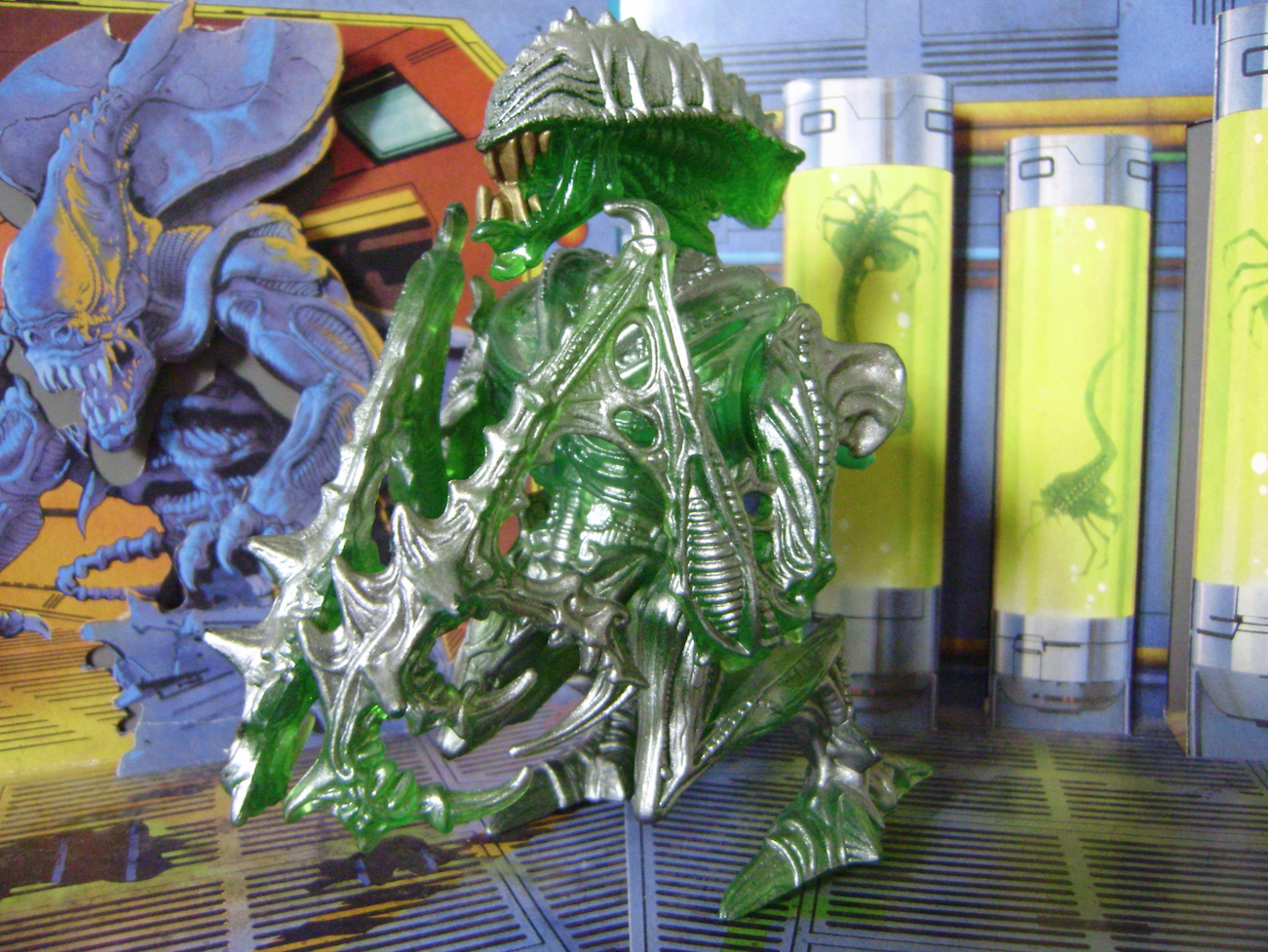 Classic Kenner Mantis Alien Figure