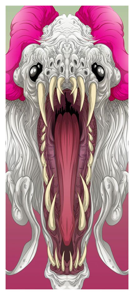 Alternative Art List - Cloverfield Alex Pardee