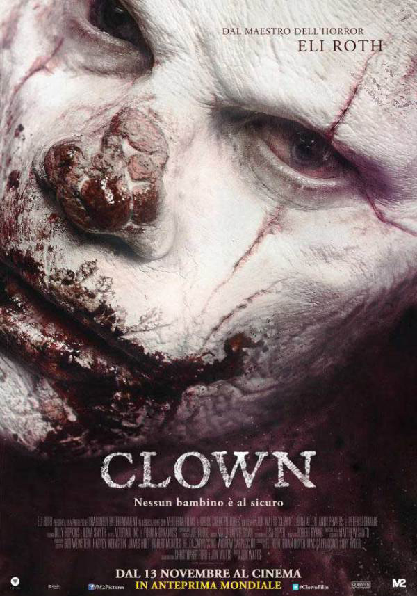 Eli Roth's Clown review