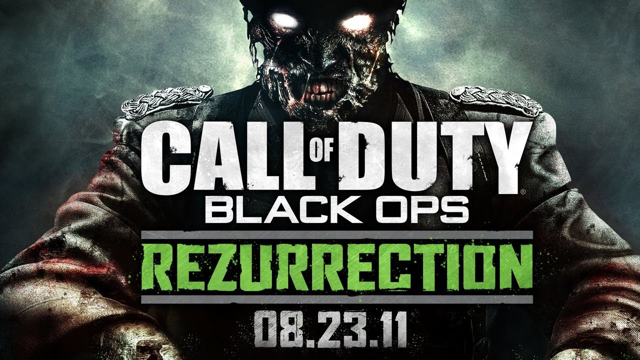 COD Zombies Rezurrection Map Pack