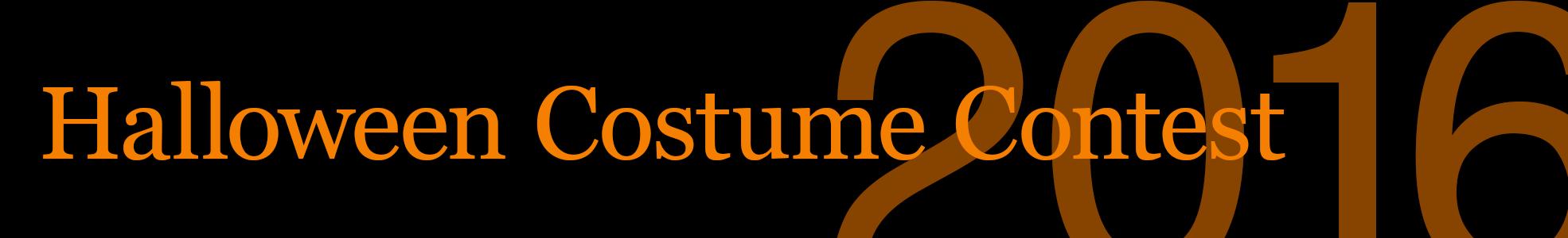 Costume Contest 2016