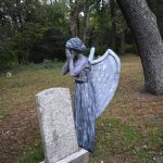 Weeping Cemetery Angel