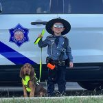 State Trooper and Dog