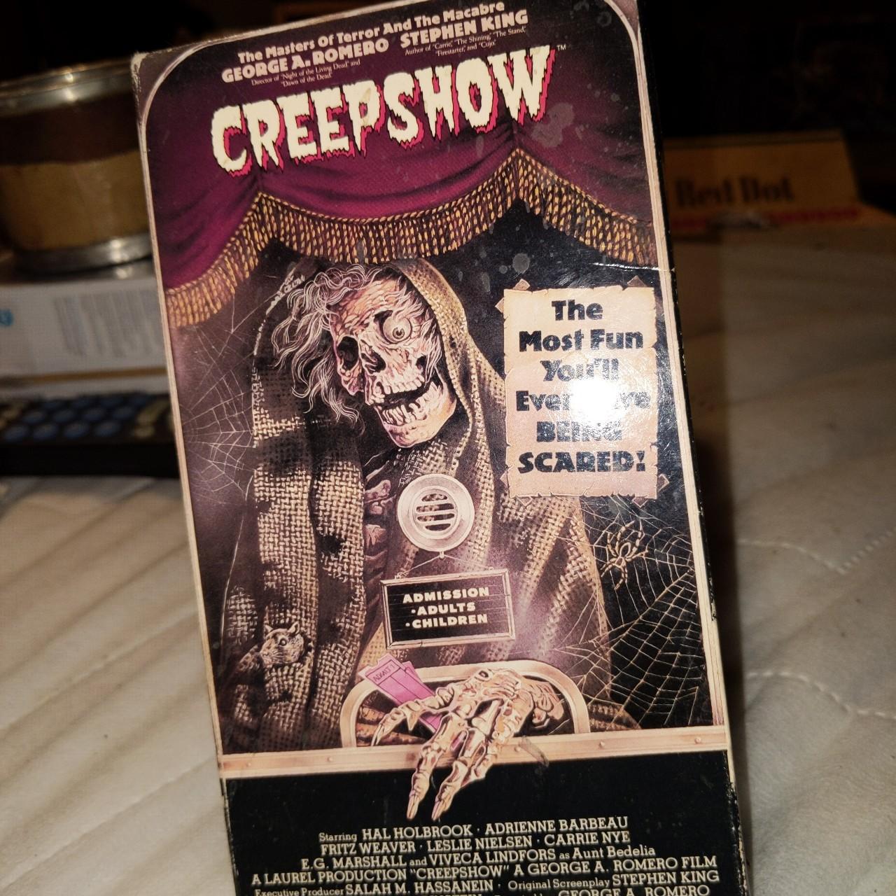 Creepshow VHS